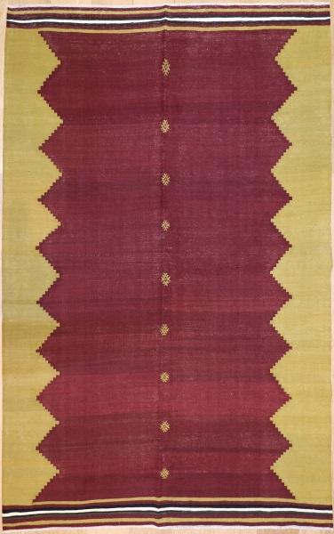 R8955 Vintage Bodrum Turkish Kilim Rug