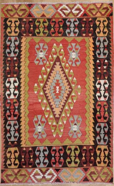 R6333 Vintage Cal Turkish Kilim