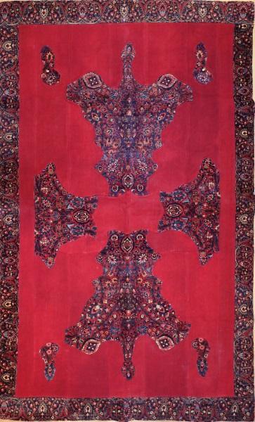 R3761 Vintage Carpet Patchwork