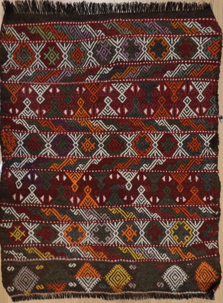 R4402 Vintage Cicim Turkish Rugs