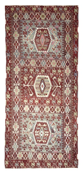 R4164 Vintage Esme Kilim Rug