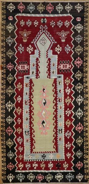 R8068 Vintage Flat Weave Rug