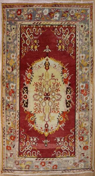 R2265 Vintage Guney Turkish Rug