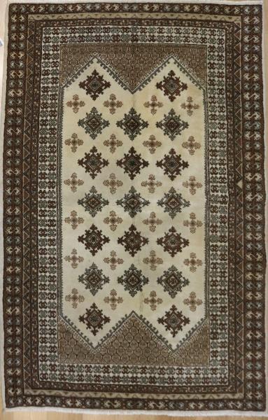 Vintage Handmade Tunisian Rug R8785