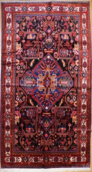 R8099 Vintage Handwoven Carpet