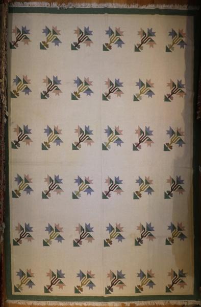 R6986 Vintage Indian Kilim Rugs
