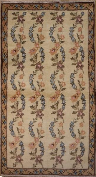 R6438 Vintage Karabagh Rug