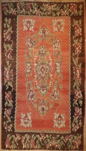 R5079 Vintage Karabakh Kilim Rug