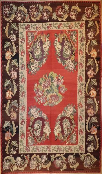 R5080 Vintage Karabakh Kilim Rug