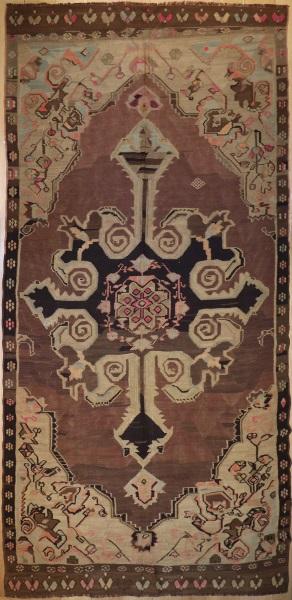 R1916 Vintage Karabakh Kilim Rugs