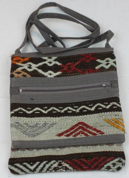 Vintage Kilim Handbag H17