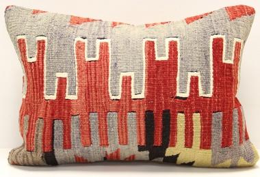 D238 Vintage Kilim Lumbar Pillow Cover