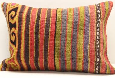 D215 Vintage Kilim Lumbar Pillow Covers