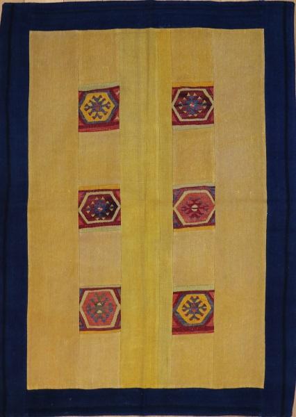 R3756 Vintage Kilim Patchwork Rug