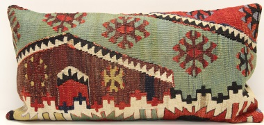 D66 Vintage Kilim Pillow Cover