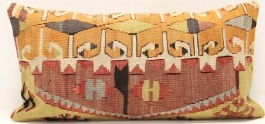 D67 Vintage Kilim Pillow Cover