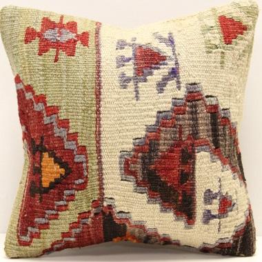 S439 Vintage Kilim Pillow Cushion Cover