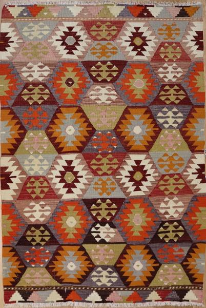 R4974 Vintage Kilim Rug