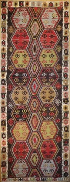 Vintage Kilim Rug UK R7517