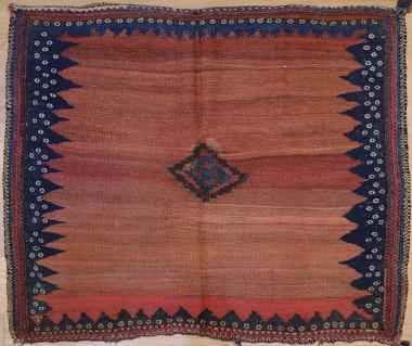 R9017 Vintage Kilim Sofreh Rug
