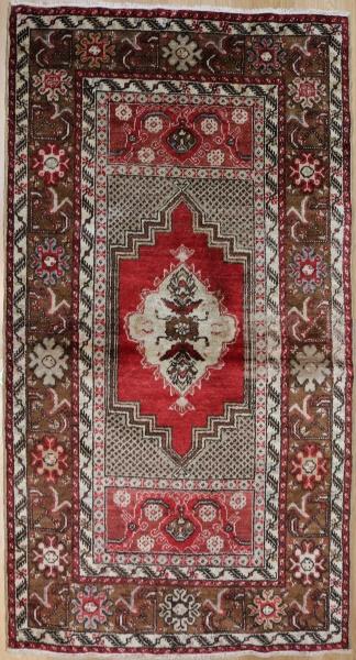 R3125 Vintage Kirsehir Turkish Rug
