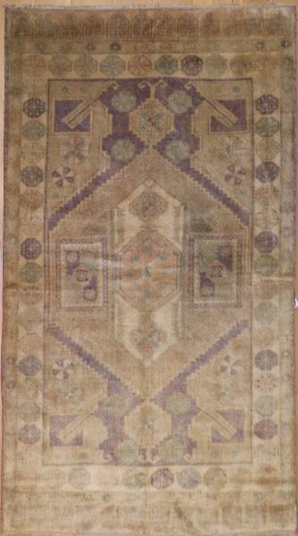 R4444 Vintage Konya Turkish Carpet