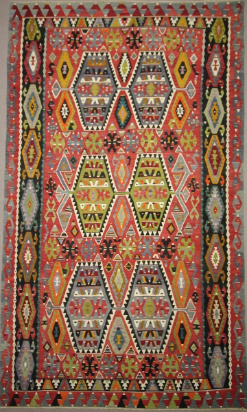 Vintage Largeturkish Kilim Rugs Overdyed Vintage Rugs