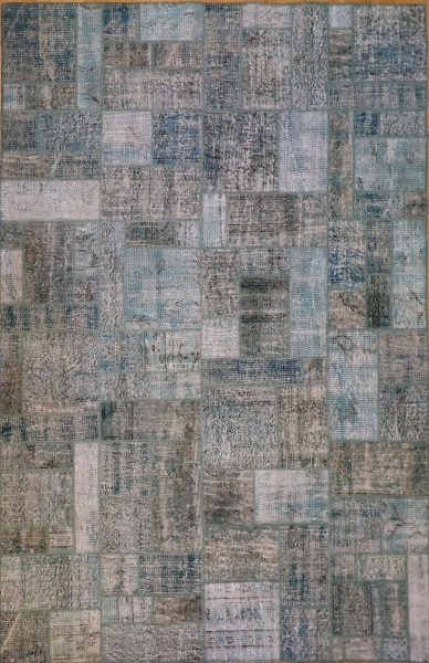 R9000 Vintage Overdyed Patchwork Rugs