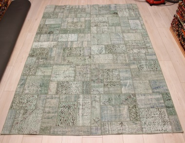 R9008 Vintage Overdyed Patchwork Rugs
