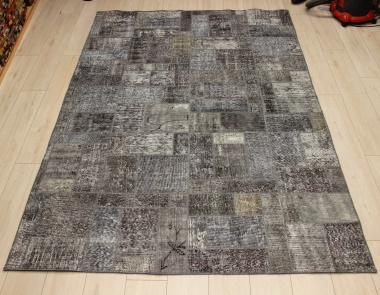 R9010 Vintage Overdyed Patchwork Rugs