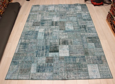 R9011 Vintage Overdyed Patchwork Rugs