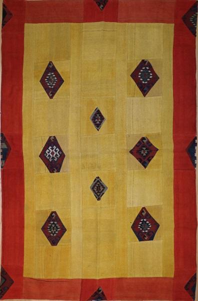 R2994 Vintage Patchwork Kilim Rug