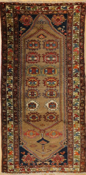 R8082 Vintage Persian Carpet Runner