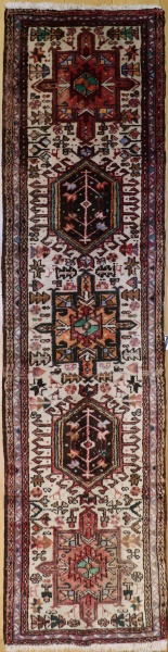 R9374 Vintage Persian Carpet Runner