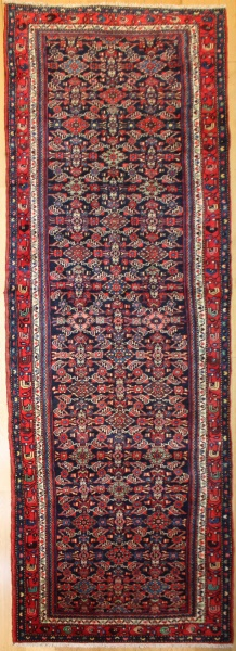 Vintage Persian Carpet Runner R8090