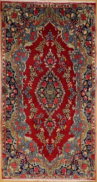R8104 Vintage Persian Kerman Rug