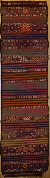 R7716 Vintage Persian Kilim Rug Runner
