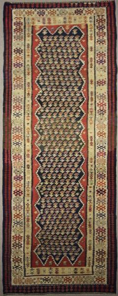 Vintage Persian Kilim Rug Runner R7824