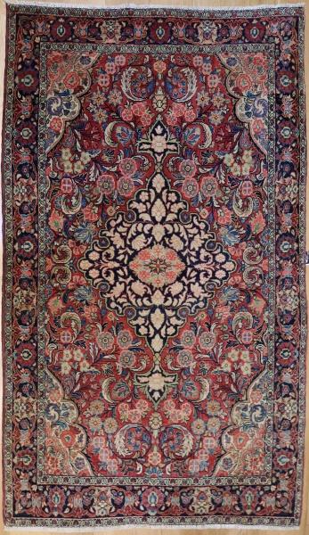 R7391 Vintage Sarouk Persian Rug