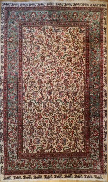 R6480 Vintage Tabriz Persian Carpet