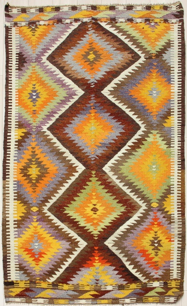 R7836 Vintage Turkish Antalya Kilim Rugs