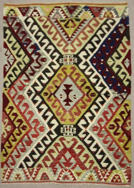 Vintage Turkish Antalya Kilim Rugs R7882