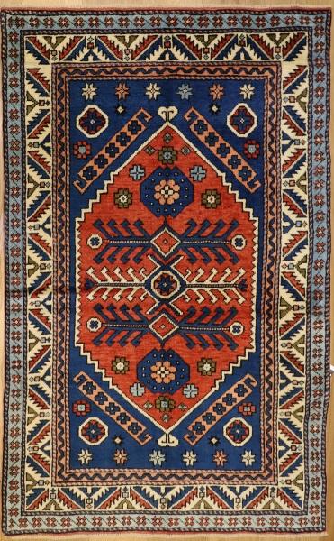 R4455 Vintage Turkish Canakkale Carpets