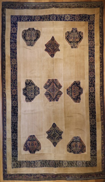 R3358 Vintage Turkish Carpet Patchwork