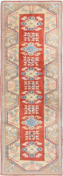 R6872 Vintage Turkish Carpet Runner