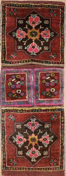 R7958 Vintage Turkish Carpet Saddle Bags