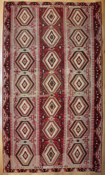 R8163 Vintage Turkish Esme Kilim Rugs