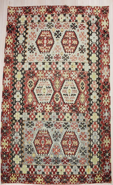 R8174 Vintage Turkish Esme Kilim Rugs