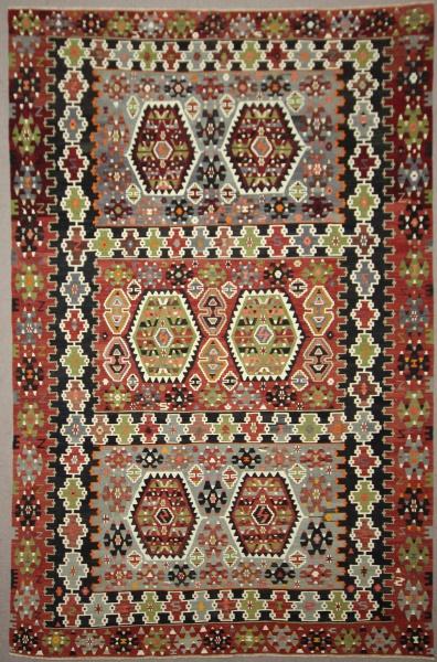 Vintage Turkish Esme Kilim Rugs R7834