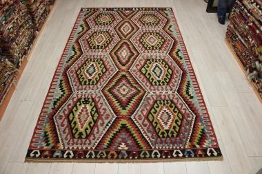 Vintage Turkish Esme Kilim Rugs R9086
